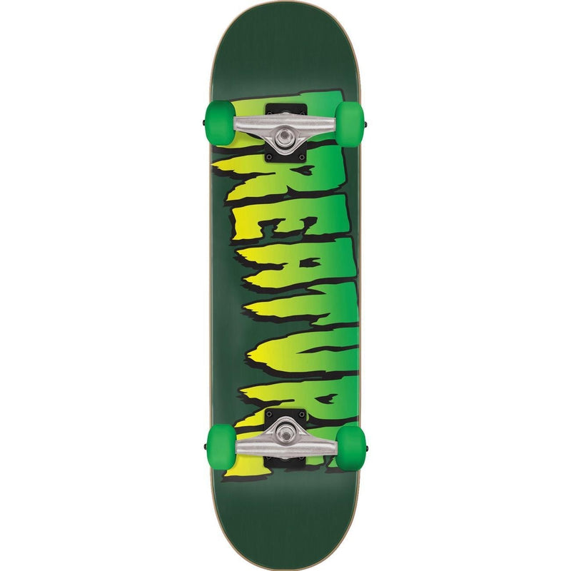 Creature Logo Full Sk8 Complete Skateboard 8"