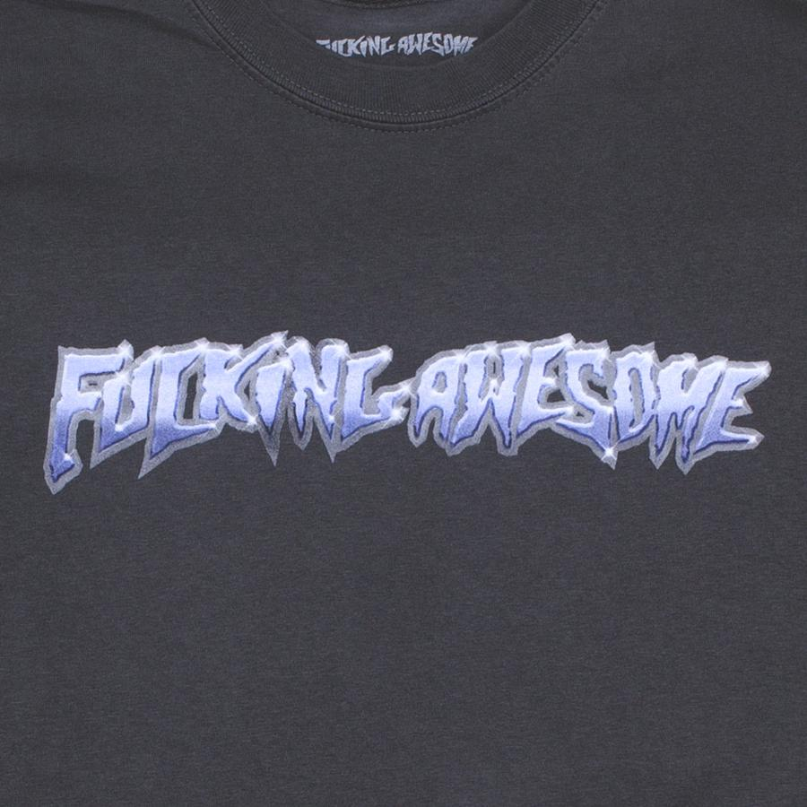 Fucking Awesome Fucking Awesome Chrome T-Shirt | Pepper - TVSC