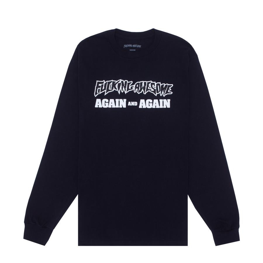 Fucking Awesome Again and Again L/S T-Shirt | Black