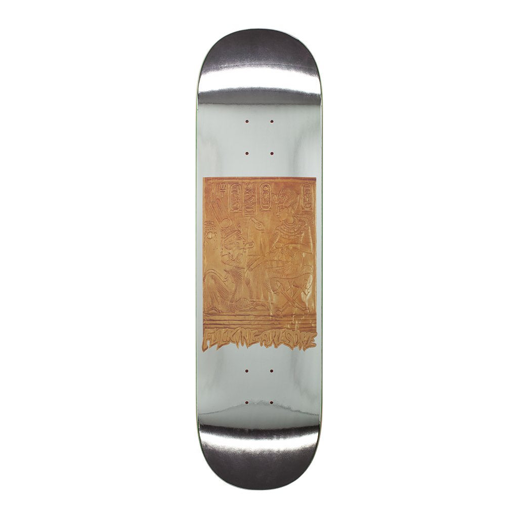 Fucking Awesome Gold Hieroglyphic Deck | 8.5""