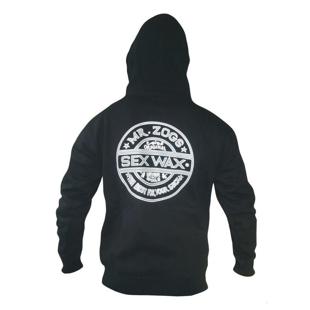 Sex Wax Sex Wax Quick Humps Logo Hoodie | Black - TVSC