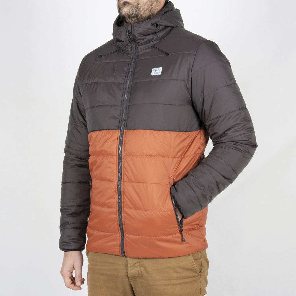 Passenger Clothing Patrol Insulated Jacket | Charcoal & Rust