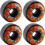 Spitfire Wheels Formula Four Hellfire Skateboard Wheels Black Classic 99DU | 54mm - TVSC