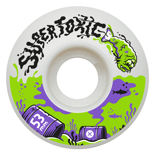 Supertoxic Urethane Mutant Fish Wheel 53mm - TVSC