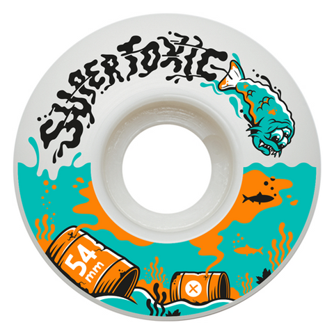 Supertoxic Urethane Mutant Fish Wheel 54mm - TVSC