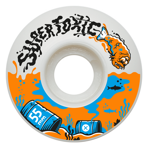 Supertoxic Urethane Mutant Fish Wheel 55mm - TVSC