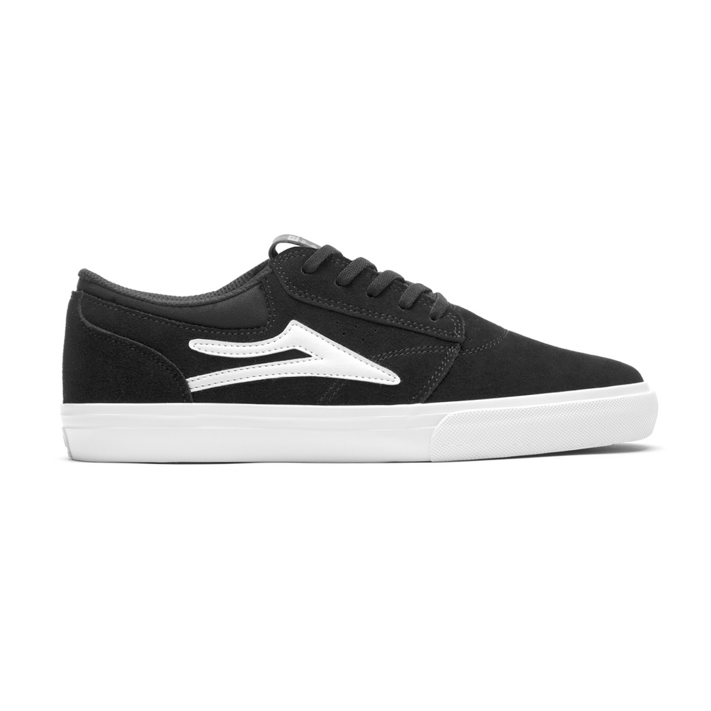 Lakai Griffin Suede | Black & White