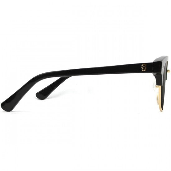 Glassy Carrie Polarized High Roller | Black & Gold - TVSC