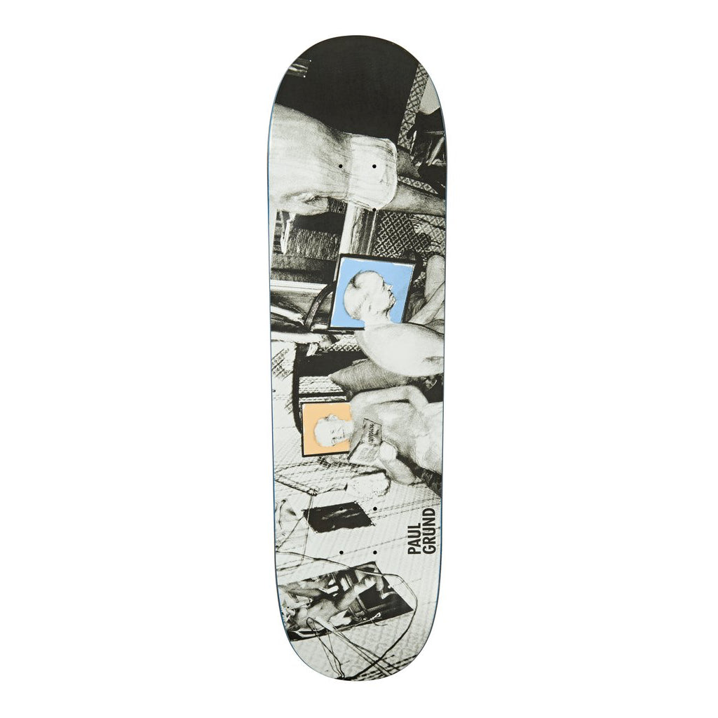 "Polar Skate Co Paul Grund Man Cave Deck | 8.5"" top"