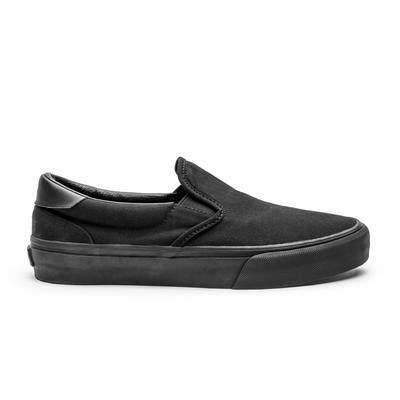 Straye Ventura Slip-on Suede | Black - TVSC