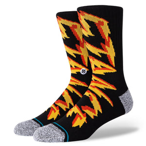Stance Electrified Infiknit Socks | Black