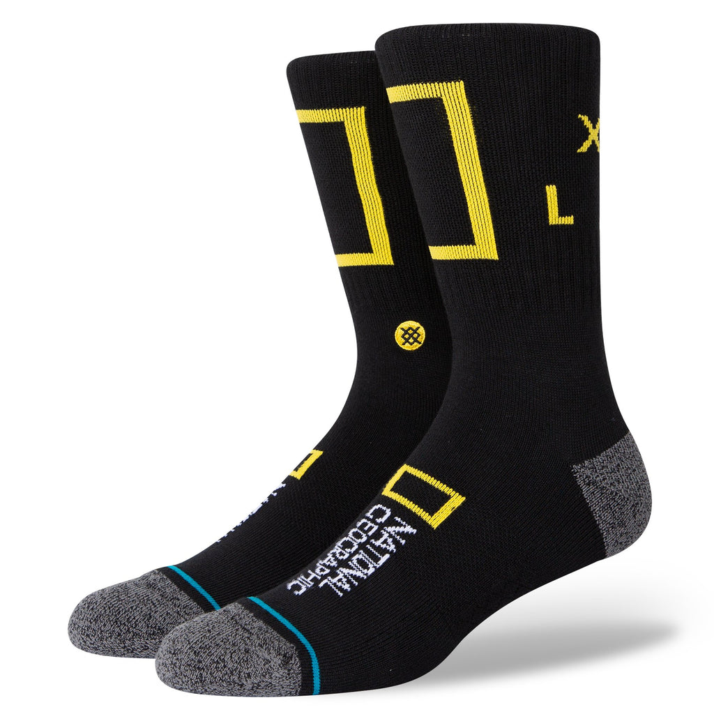 Stance National Geographic Explore Arrow Socks | Black