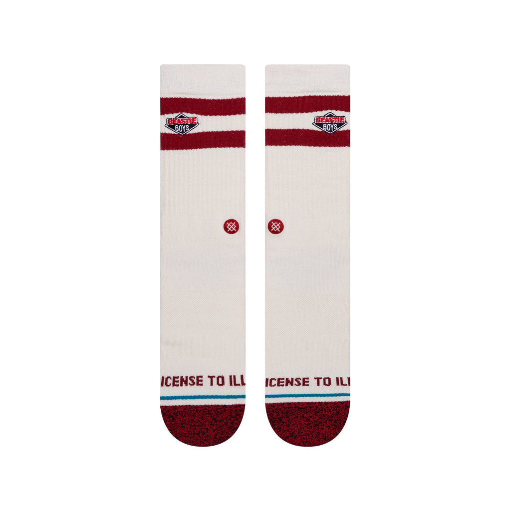 Stance Licence To Ill Socks | White