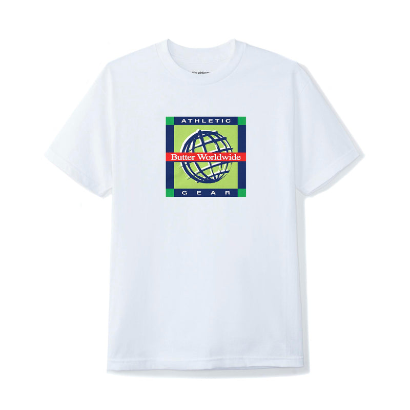 Butter Goods Athletic Gear T-Shirt | White