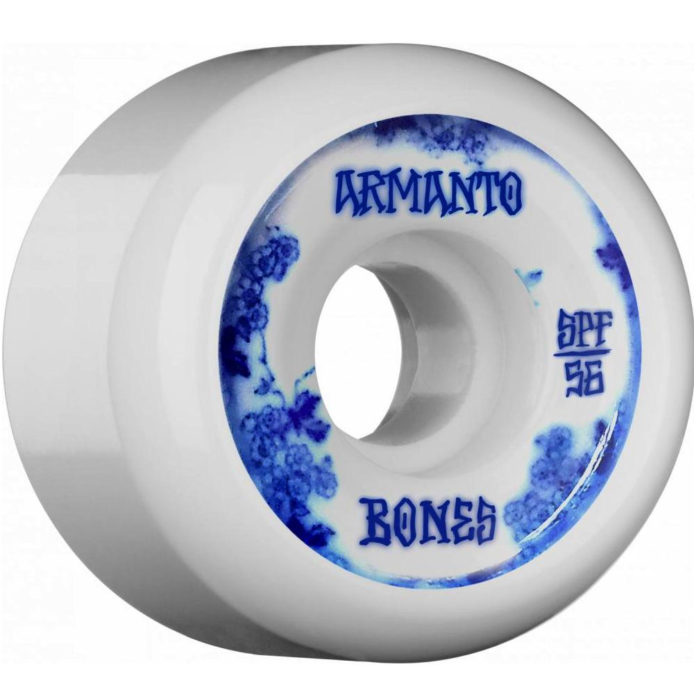 Bones Bones Lizzie Armanto SPF Blue China Skate Wheels | 56mm - TVSC