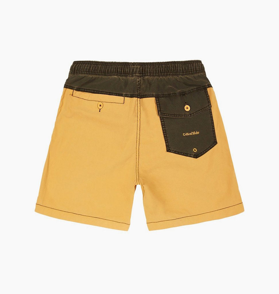 TCSS TCSS Plain Jane Board Shorts | Amber Gold - TVSC