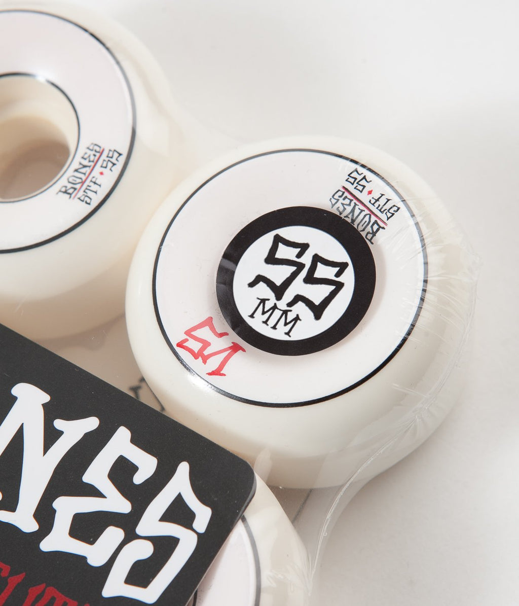 Bones STF V5 Sidecuts Skate Wheels | 55mm 103A