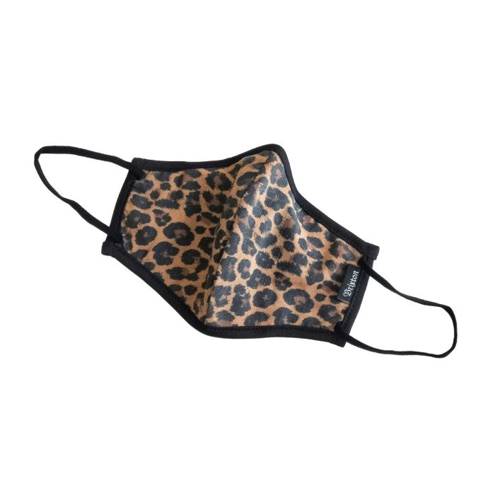 Brixton Anti-Microbial Face Mask | Leopard