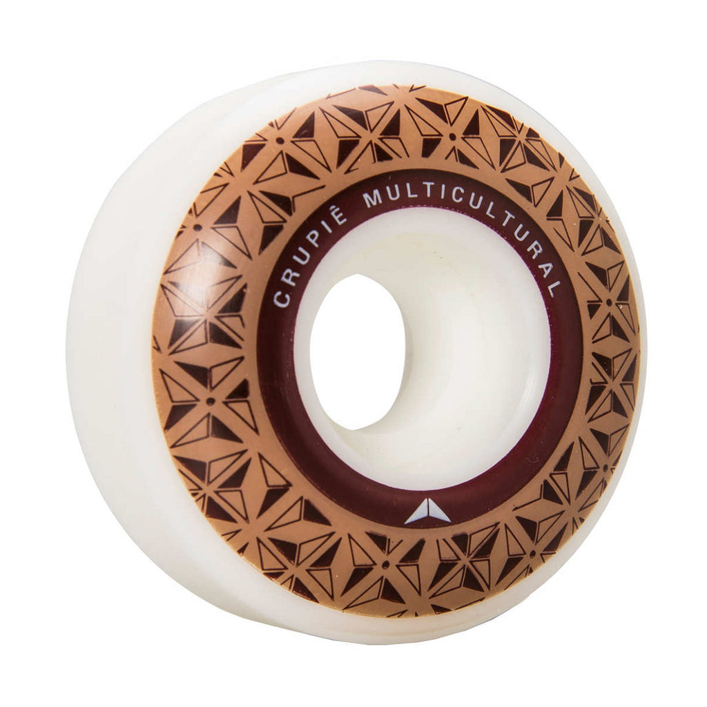 Crupie Logo Brown Skateboard Wheels | 52mm - TVSC