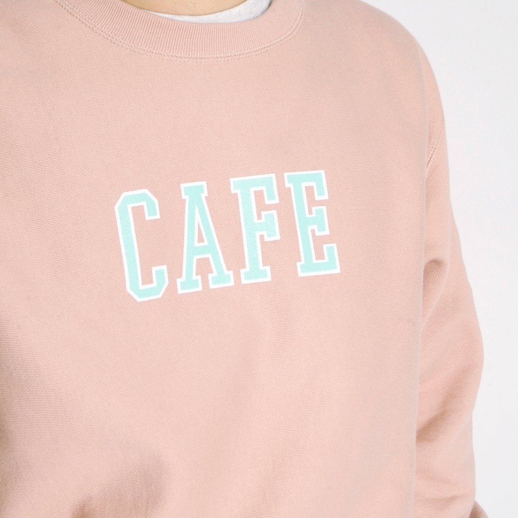 Skateboard Cafe Skateboard Cafe College Heavyweight Crew | Dusty Pink - TVSC