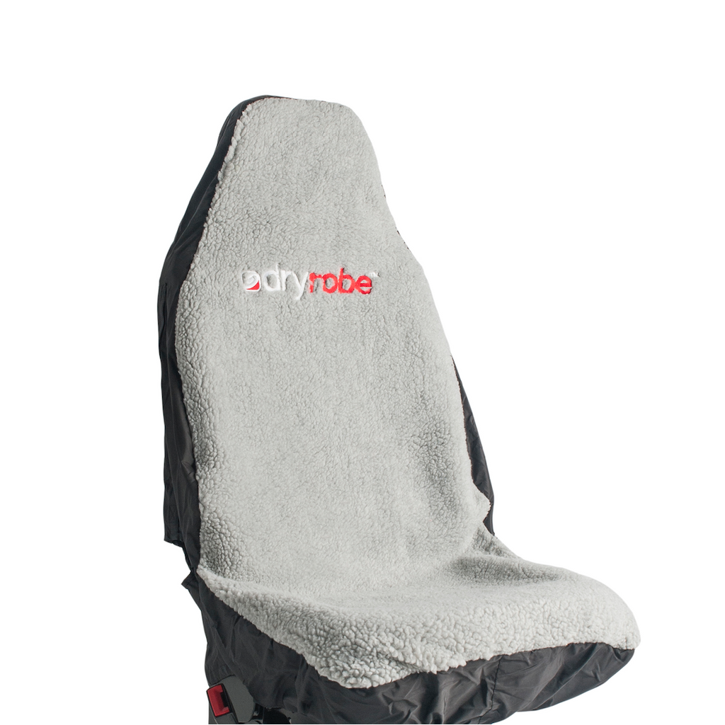 Dryrobe Car Seat Cover Single Waterproof | Black and Grey - TVSC