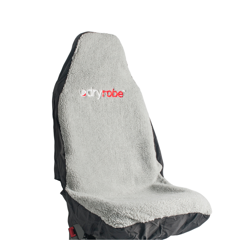 Dryrobe Dryrobe Car Seat Cover Single Waterproof | Black and Grey - TVSC