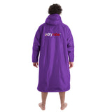 Dryrobe Dryrobe Advance Long Sleeve Purple/Grey Large - TVSC