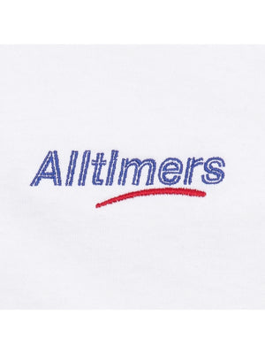 Alltimers Embroided Estate T-Shirt | White