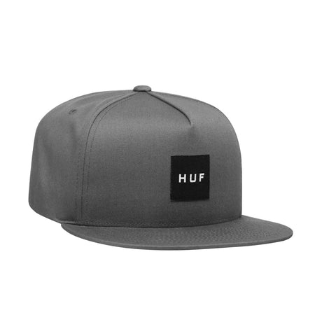 HUF Essentials Box Snapback Cap | Charcoal - TVSC