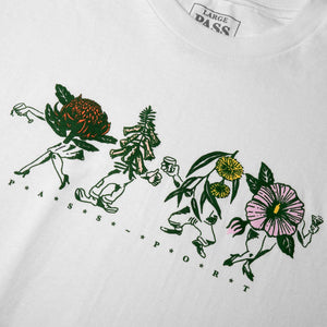 Pass~Port Pass Port Floral Friends T-Shirt | White - TVSC