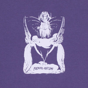 Fucking Awesome Angel Wand T-Shirt | Violet