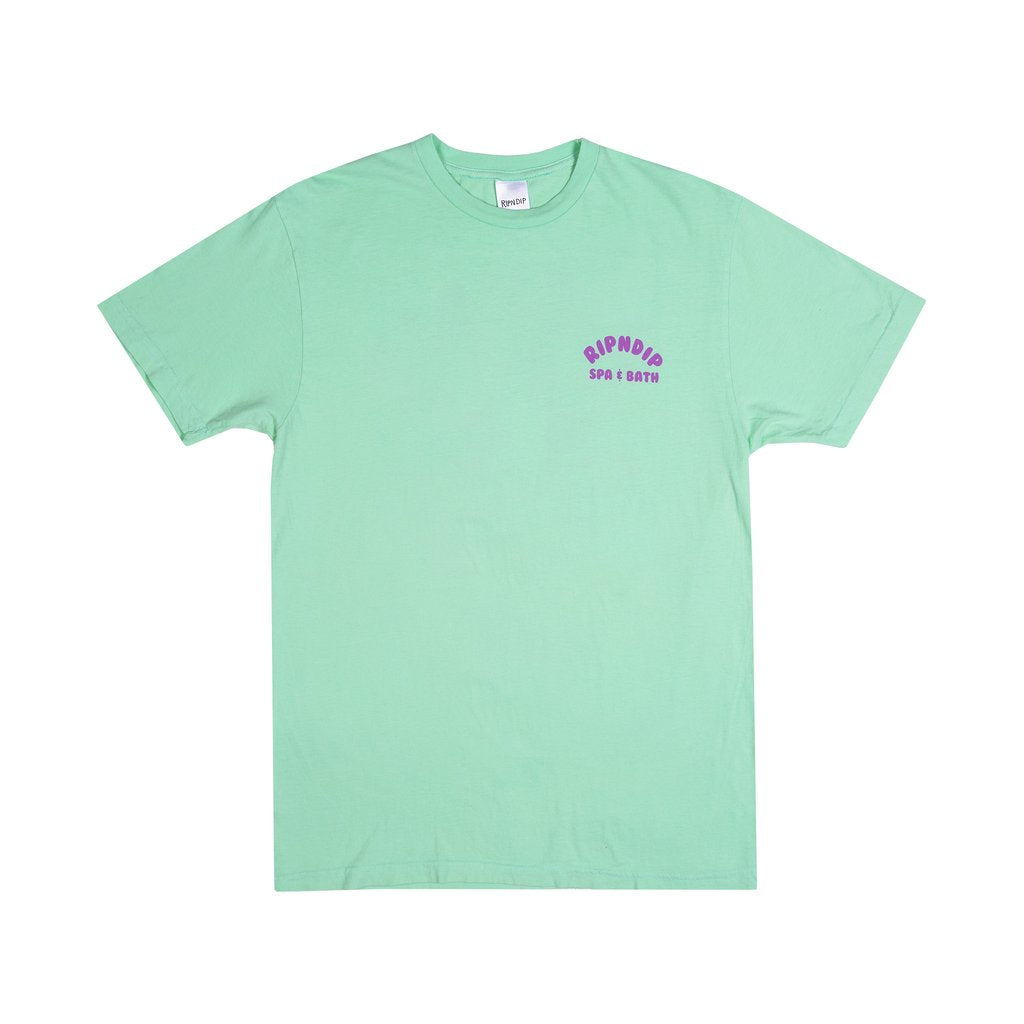 RipnDip Rip N Dip Spa Day T-Shirt | Mint Green - TVSC