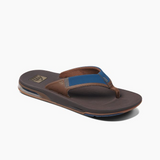 Reef Fanning Low Flip-Flop | Navy & Brown - TVSC
