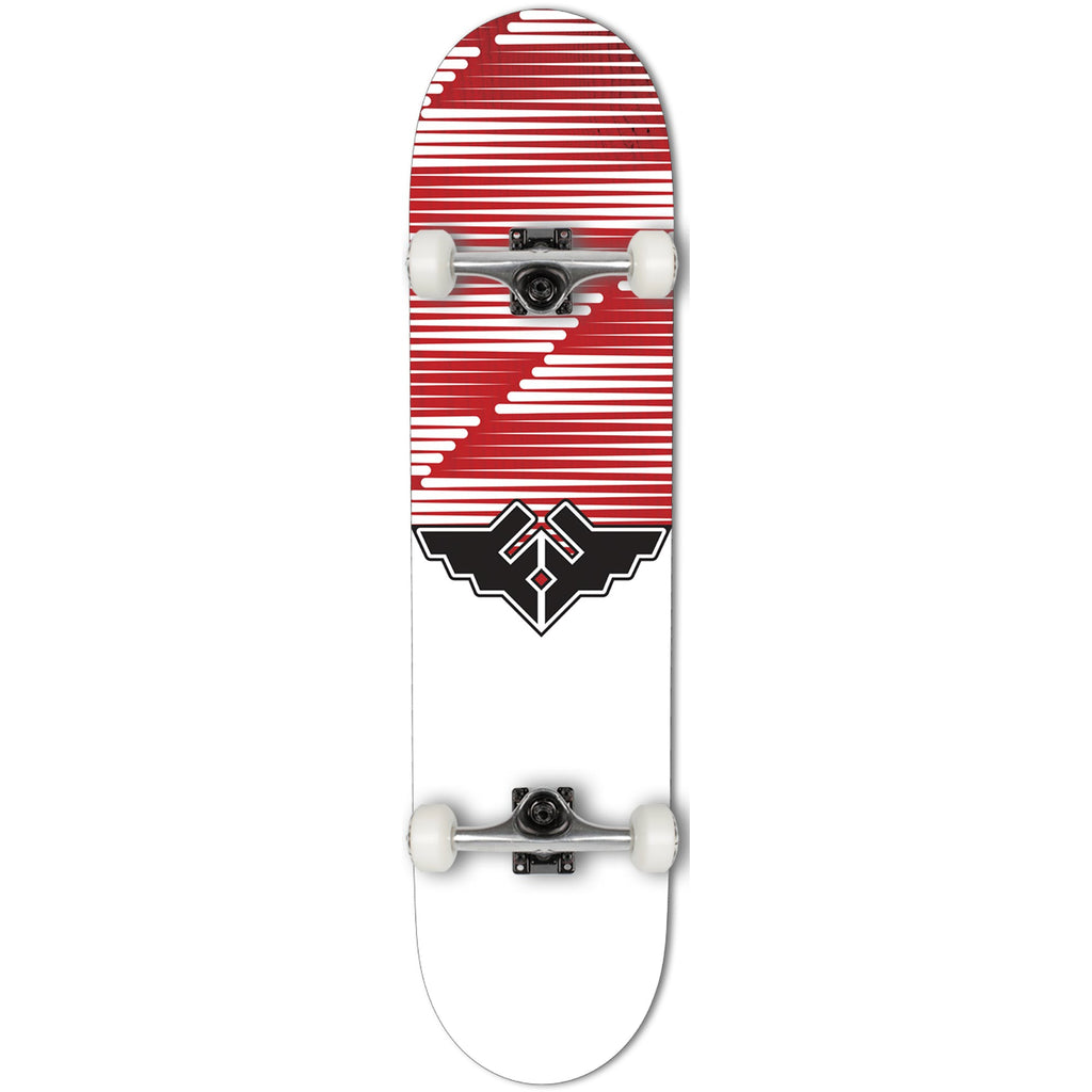 Fracture Skateboards Wings V2 Complete Skate Board Red | 7.75""