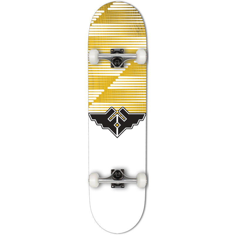 Fracture Skateboards Fracture Skateboards Wings V2 Complete Skate Board Yellow | 8