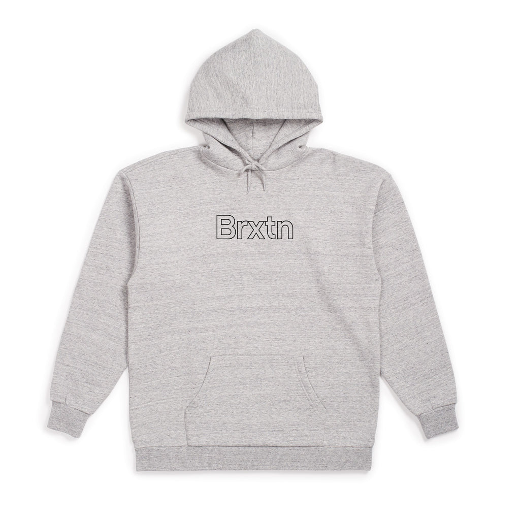 Brixton Brixton Gate II Hoodie | Heather Grey - TVSC