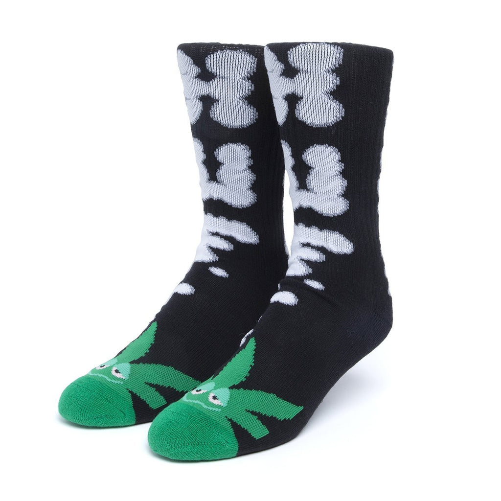 HUF N Puff Buddy Socks | Black