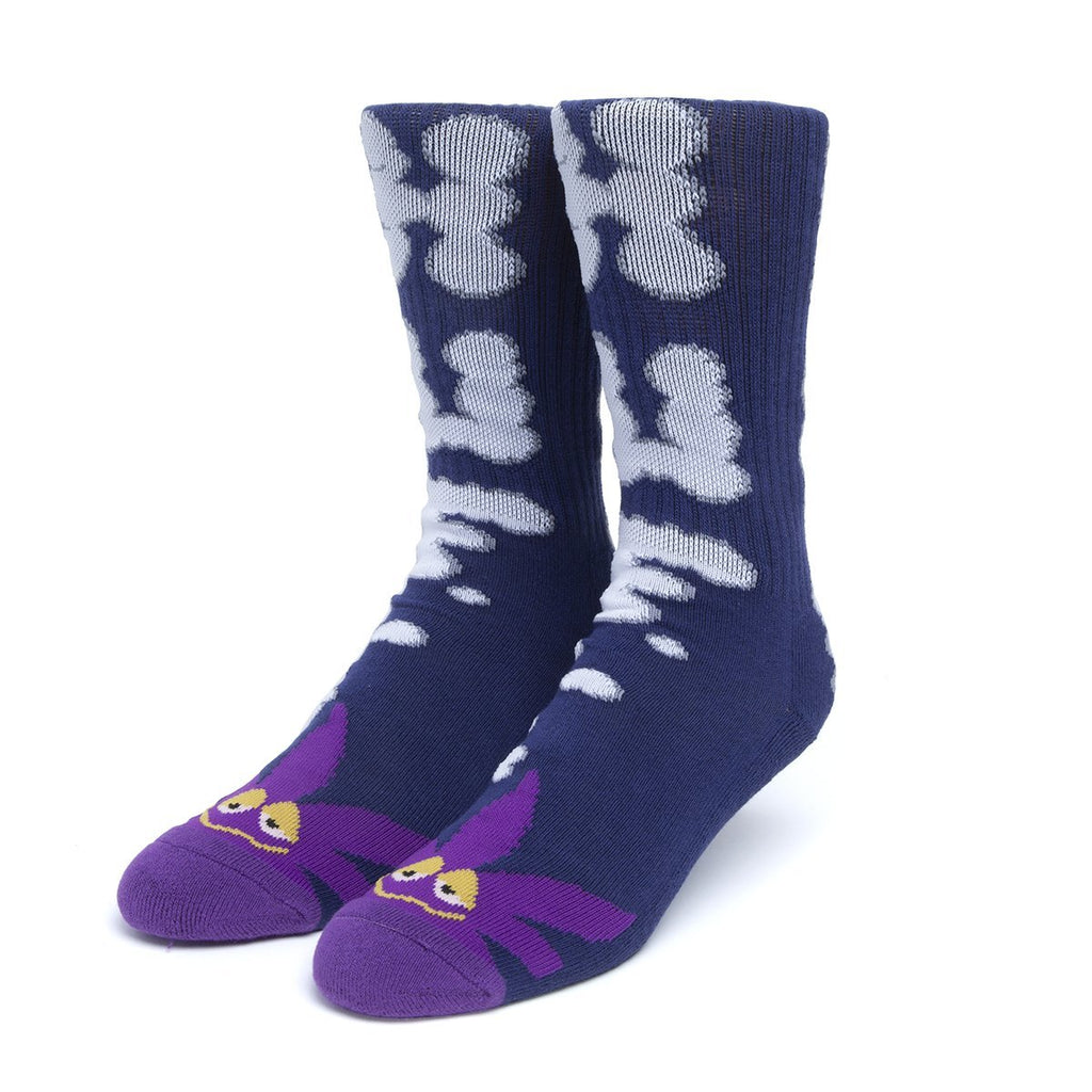 HUF N Puff Buddy Socks | Purple