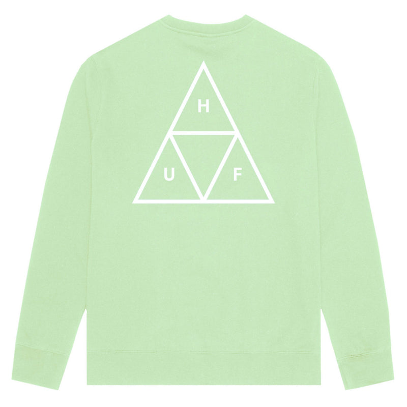 HUF Essentials TT Crew | Mint