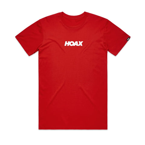 Hoax Pulse T-Shirt Red | TVSC