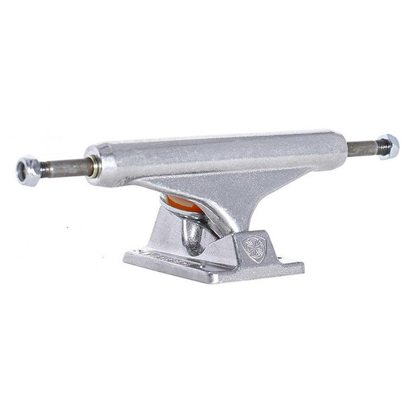 Independent Mid Skateboard Trucks Polished Silver Pair | 139mm