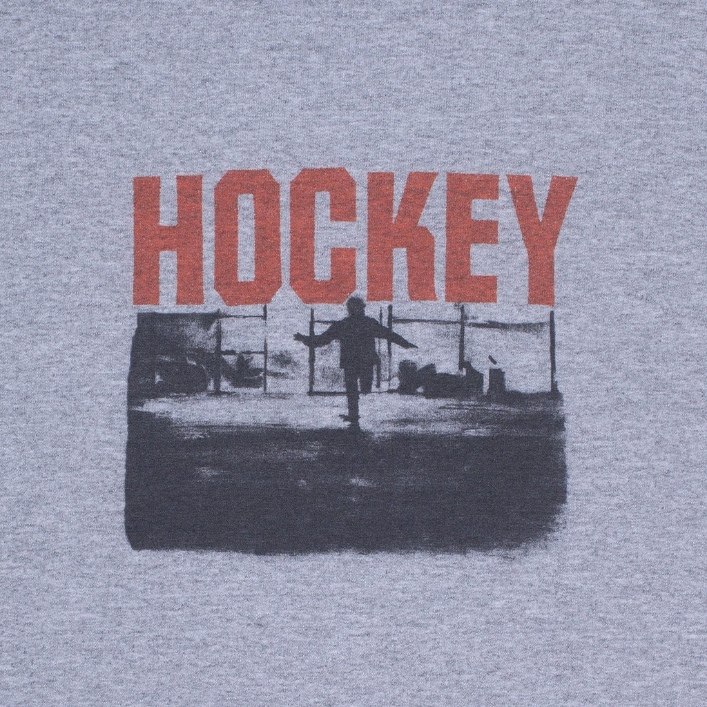 Hockey Inferno Crewneck | Grey
