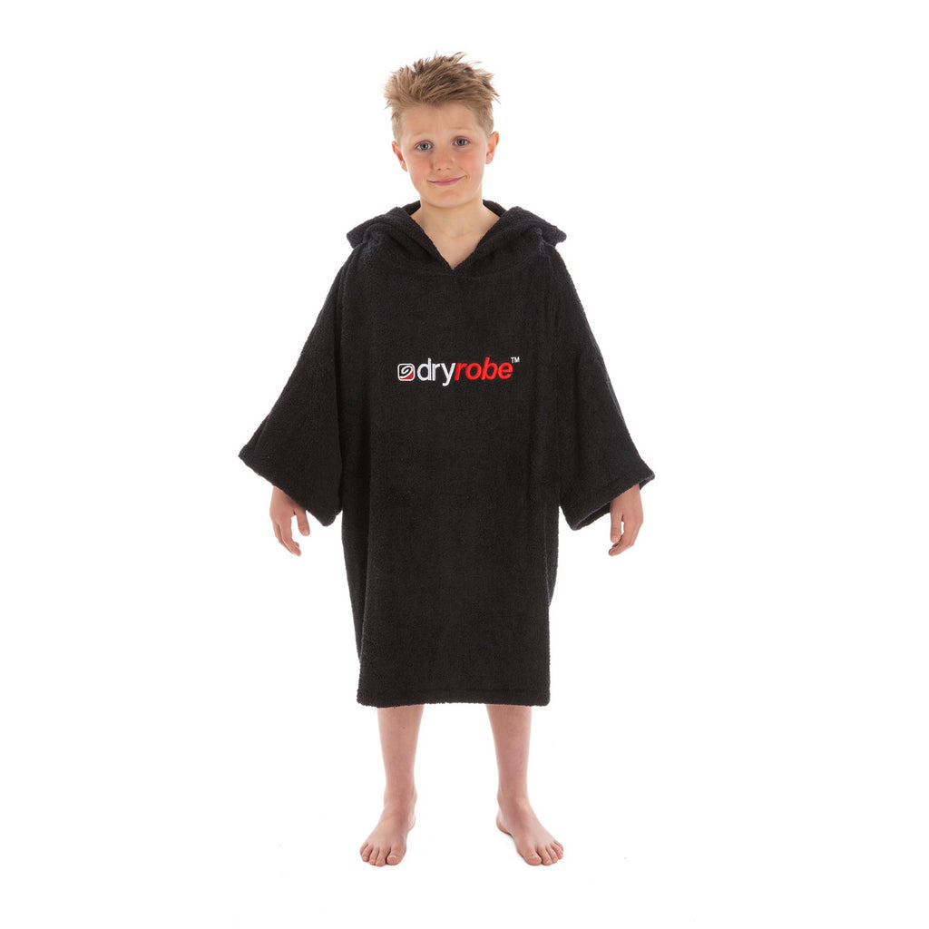 Dryrobe Kids Towel DryRobe Size Small | Black - TVSC