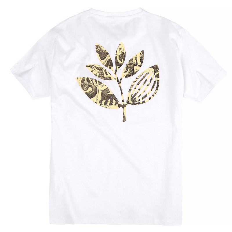 Magenta Skateboards Jungle 2 T-Shirt | White back print