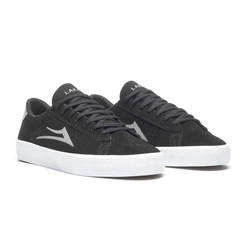 Lakai Newport Suede | Black & Grey