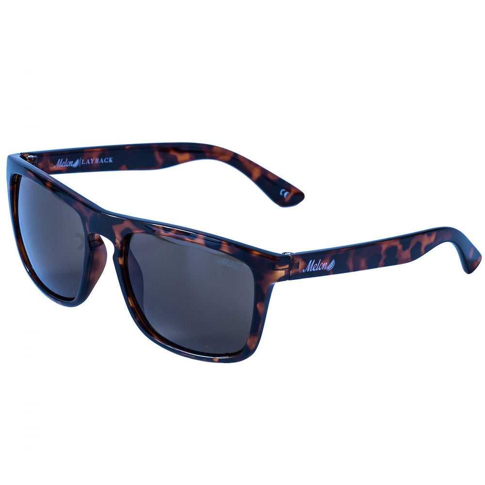 Melon Optics Layback 2.0 Tortoise Matte Polarised - TVSC