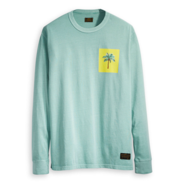 Levi's Skateboarding Skate Graphic Long Sleeve T-Shirt | Green