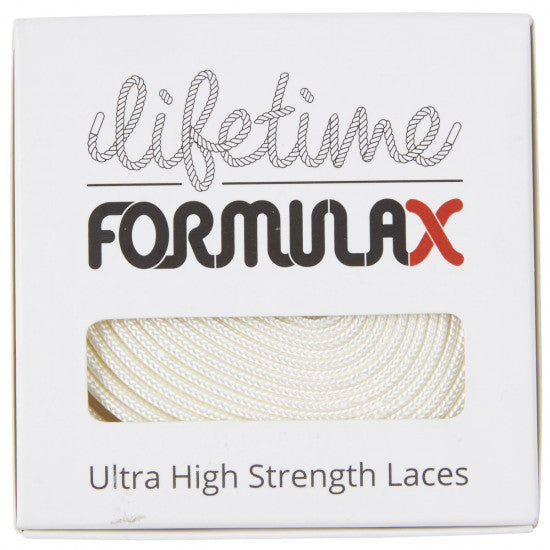 Lifetime Laces Formula X Flat White - TVSC