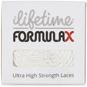 Lifetime Laces Lifetime Laces Formula X Round White - TVSC