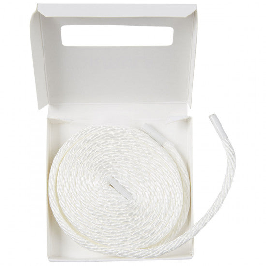 Lifetime Laces Formula X Round White - TVSC